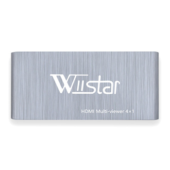 цена на Wiistar HDMI Multiviewer 4x1 Support 1080P HDMI 4 In 1 Out HDMI Switch 4X1 Support HDMI 1.3 HDCP 1.2 HDMI 4X1 for Monitor HDTV