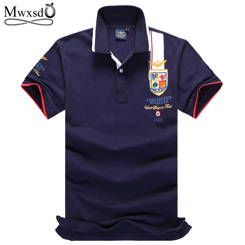 Mwxsd camisas masculinas polo embroidered horse militare for Polo shirts with embroidery