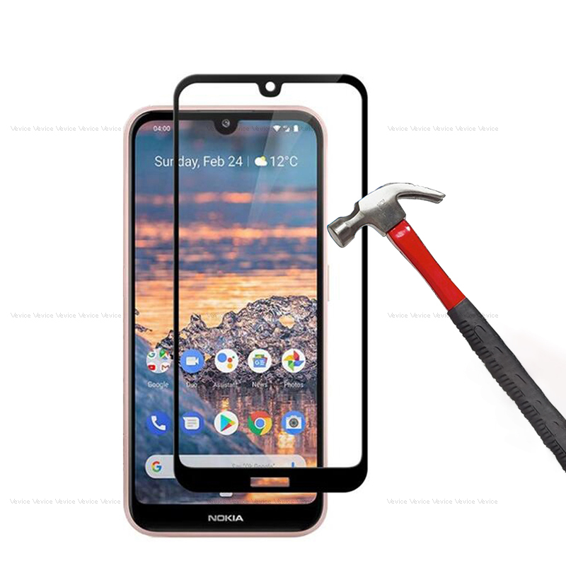 9H Protective Glass for <font><b>Nokia</b></font> 4.2 3.2 2.2 2019 5.1 7 <font><b>7.1</b></font> 8.1 Plus Screen Protector for <font><b>Nokia</b></font> 9 X5 X6 2 3 5 6 2018 Tempered Glass image