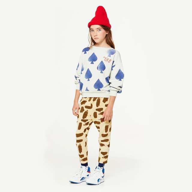 placeholder Presale 2018 Autumn Baby Boy Clothes Kids TAO Brand Poker Sun  Stripes Bear Sweatshirt Girls Tops 6f6f026f33c7