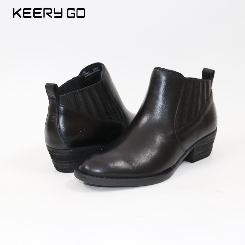 цена new winter boots with comfortable all-match in high-end leather boots 36-39