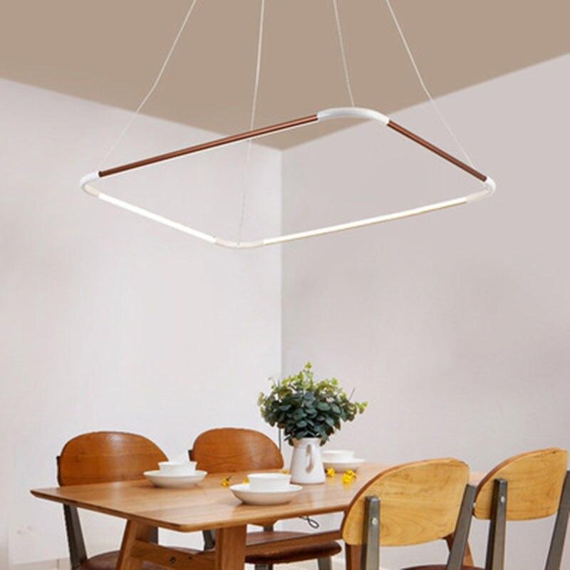 Aliexpress.com : Buy Modern Square LED Pendant Light For ...