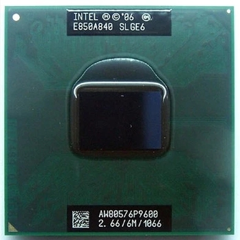 intel Laptop cpu P9600 CPU Core 2 Duo Mobile CPU P9600 Dual Core 2.7GHz 6M 1066MHz Socket pm45