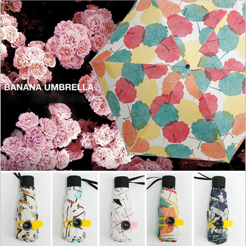 Outdoor Furniture Diplomatic New Umbrellas 1pc Mini Pocket 5 Folding Compact Princess Anti Uv Sun Rain Umbrella Parasol Case Sun Umbrella Parasol Case No35 To Reduce Body Weight And Prolong Life Furniture