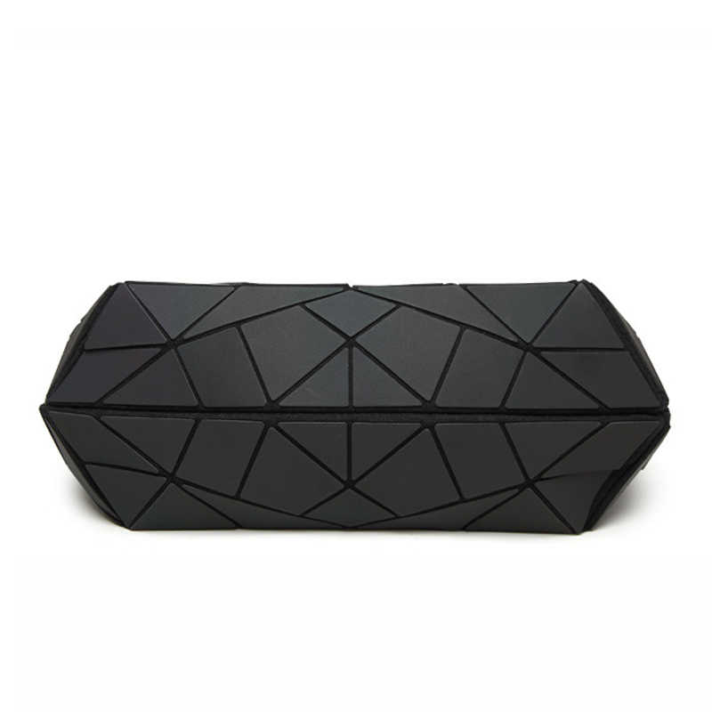 2018 Bolsas De Luxo Mulheres Sacos De Designer Geometria Do Sexo Feminino Sacos de Ombro Simples Dobrar Bolsas bolsos mujer Luminosa sac a principal