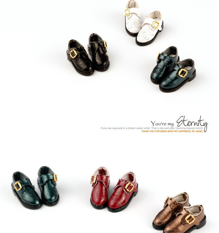 Blyth shoes british style shoes suitable for blyth Azone licca Momoko JerryB Chole Holala doll shoes