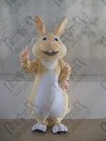 New ester bunny mascot trang phục dễ thương cartoon lông thỏ trang phục linh vật