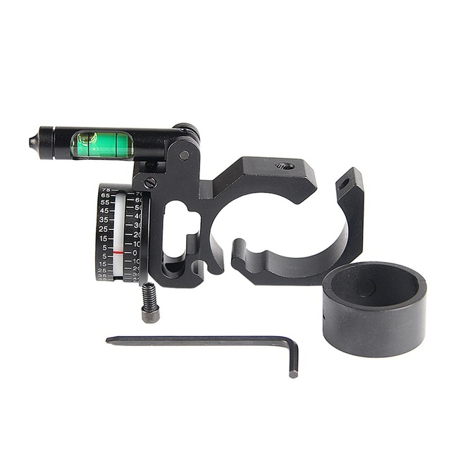 Scope Ring Angle Indicator Bubble Level Fit 25.4mm/30mm Scope Mount Rings for Optical Scope Sight Hunting HT2-0047 4