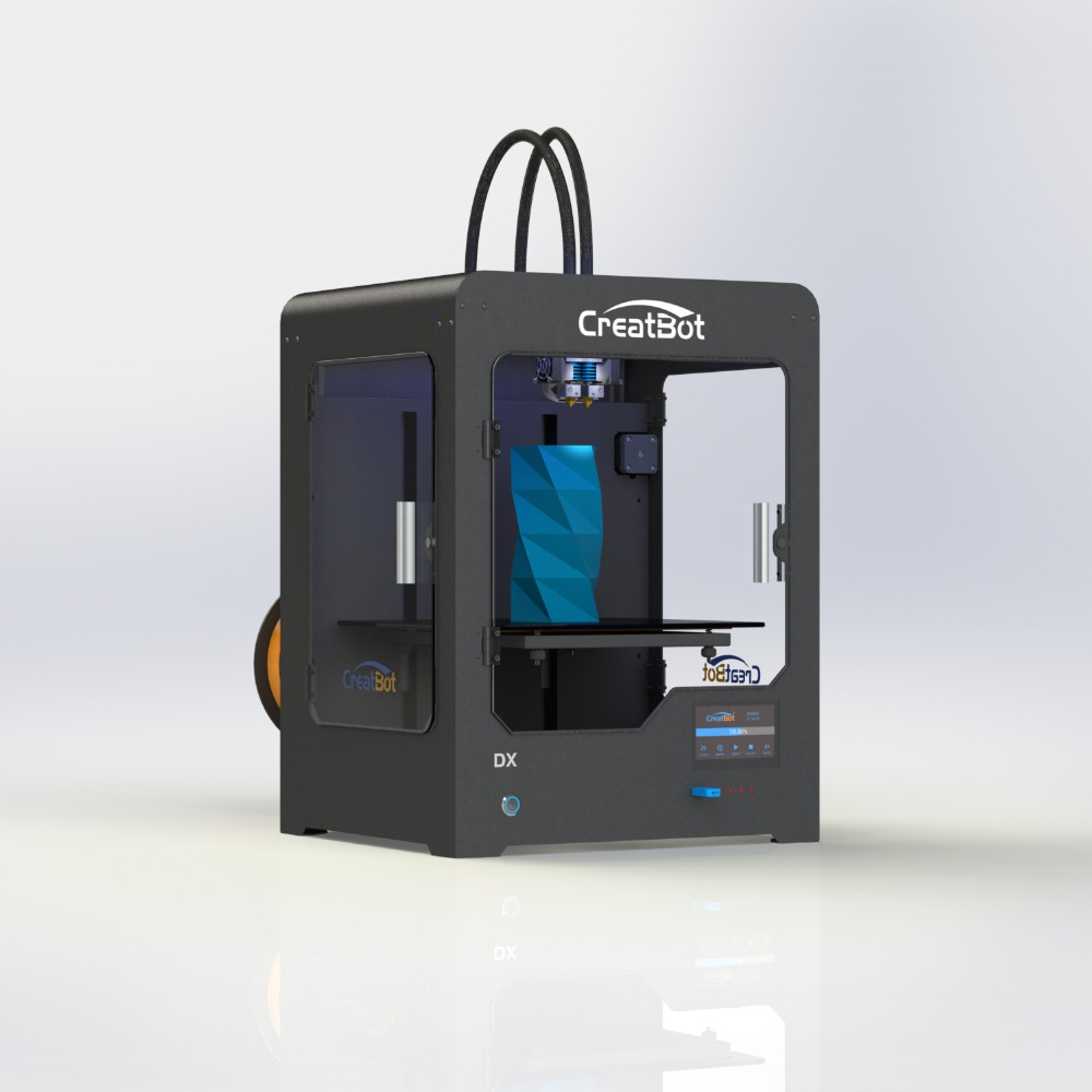 ⓪DX40 404040 mm Dual Extruder CreatBot 40D Printer Metal ...
