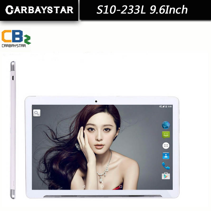 CARBAYSTAR Smart tablet pcs android tablet pc 9 6 inch Android 5 1 Octa Core tablet