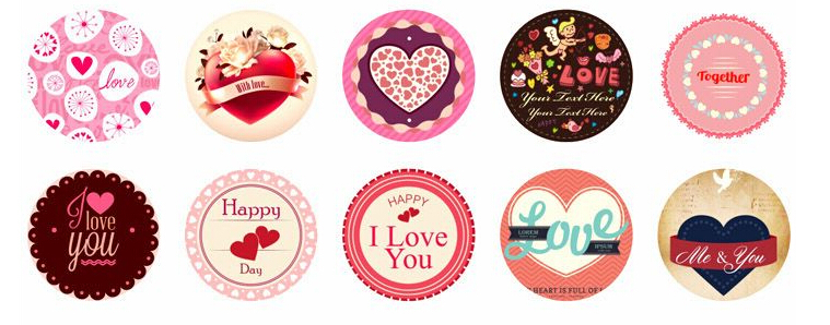 1 Lot2 Sets Diy Scrapbooking Paper Love Diary Stickers Wedding