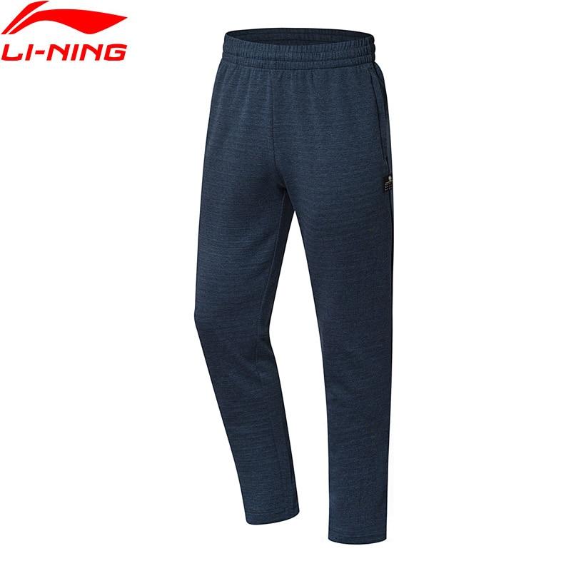 Li-Ning Men BAD FIVE Basketball Sweat Pants Regular Fit 87% Cotton 13% Polyester LiNing Comfort Sports Pants AKLN131 CAMJ18