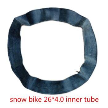 Snow Bike 26*4.0 Inner Tire ATV Inner Tube Bicycle Inner Tube Large and Wide Inner Tube Snow Tire