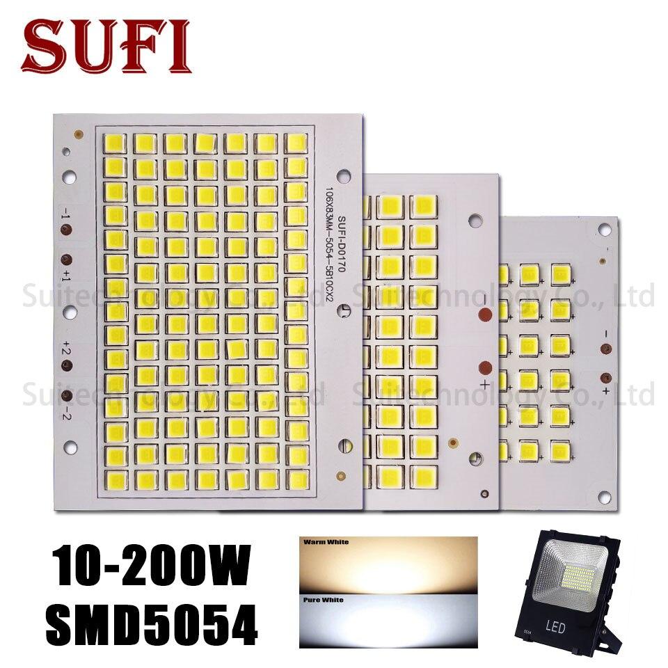 10W 20W 30W 50W 100W 150W 200W Full Power LED Floodlight Source SMD5054 Led Board For DIY 10 20 30 50 100 150 200 W Floodlight
