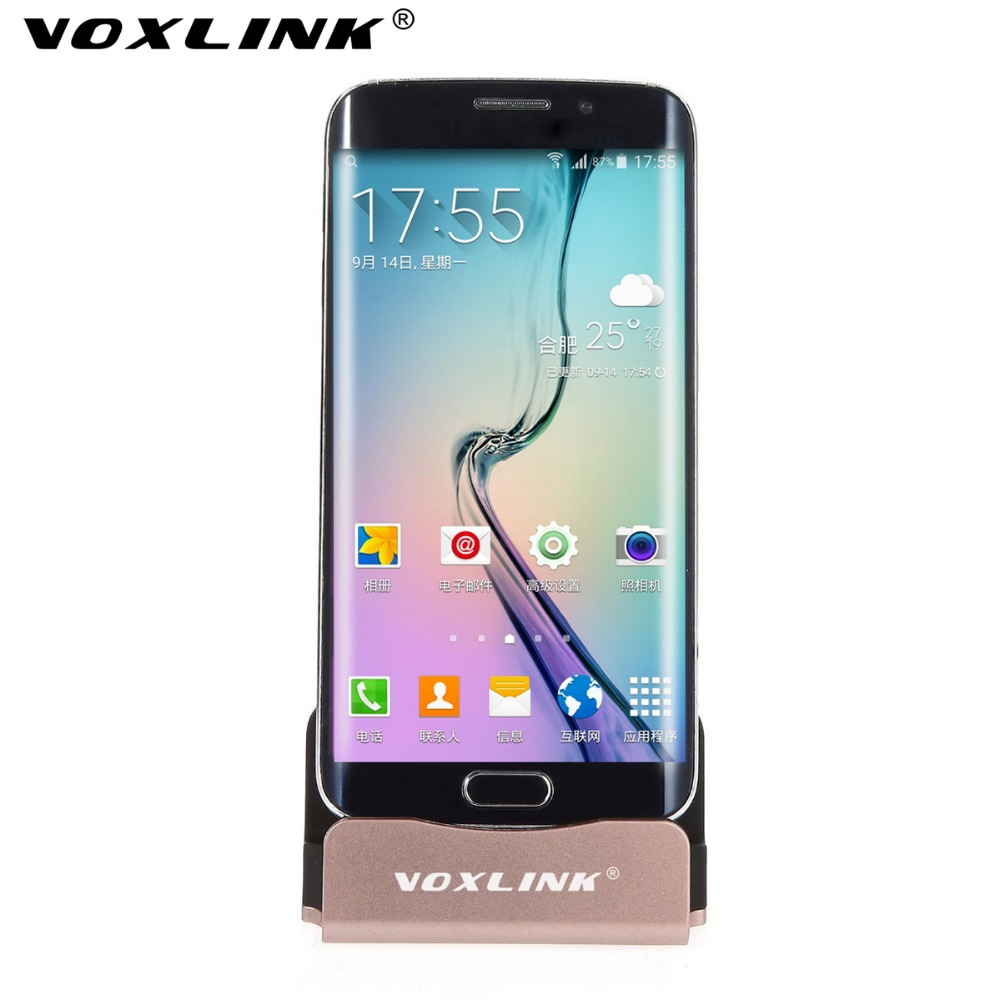 VOXLINK Newest Charger Dock Universal Android Mobile Phone Charger Micro USB Charging Syncing Docking Station for Cell Phone