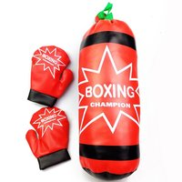 Kids Champion Boxing Children S Pretend Boxing Toy Play Set Owith Stuffed Punching Bag And Set