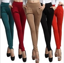 2016 Excellent Quality New Hot Women Loose Harem Pants Ladies Fashion Plus Size S-3XL Trousers Female Leisure Cpantalon Capris