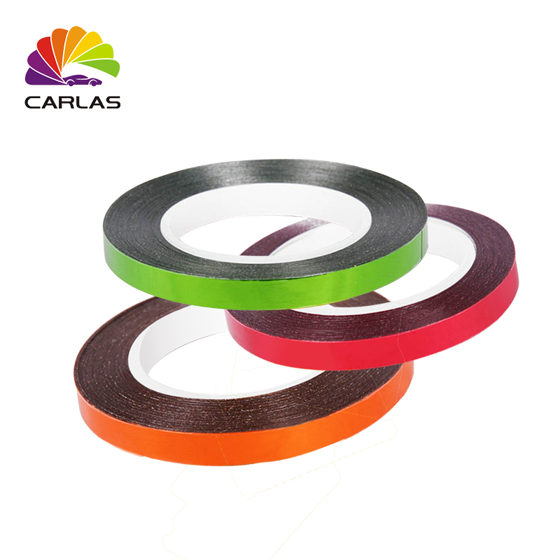 0 65cm 7m Car shape car sticker decal reflective tape external accessories protective self adhesive car body stripe stickers in Car Stickers from Automobiles Motorcycles