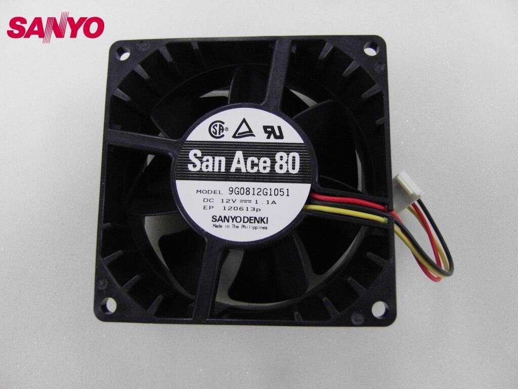 Здесь можно купить   SANYO Brand new original inverter cooling fan 9G0812G1051 12V Server 80*80*38mm Компьютер & сеть