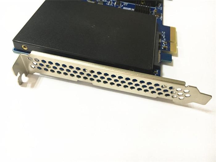 Купить с кэшбэком Marvell 88SE9230 High Speed Dual SATA III to PCI Express PCI-E 2X SSD Adapter for MAC PRO 3.1-5.1 Support Raid 0,1