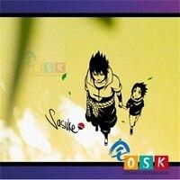 Uchiha Sasuke help childhood wall stickers Naruto write around the eye animation around the blast