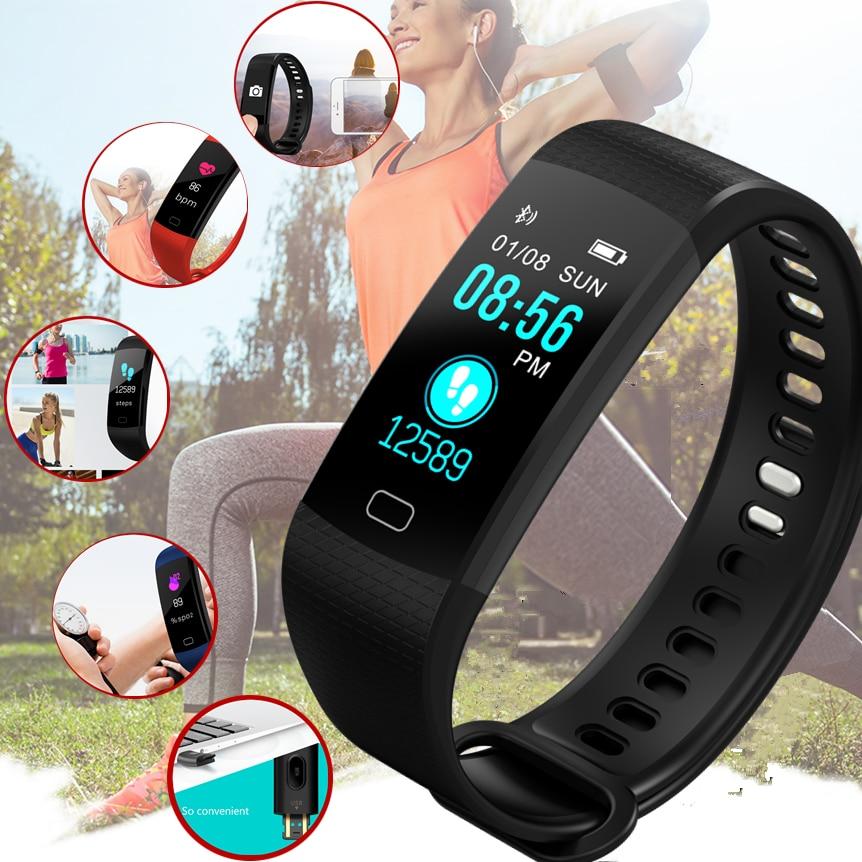 Bangwei Neue Männer Frauen Smart Uhr Männer Ekg Echt-zeit Minitor Dynamische Herz Rate Ip67 Sport Fitness Uhr Unterstützung Usb-ladung Box Uhren