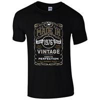 Made in 1976 T-Shirt Geboren 41st Jahr Geburtstag Alter Geschenk Vintage lustige Mens Geschenk Neue 2017 Heißer Sommer Casual T Shirt Druck
