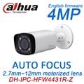 4MP h.265 IP PoE Dahua IPC-HFW4431R-Z substituir IPC-HFW4300R-Z motorizado zoom auto focus lens onvif rede cctv camera