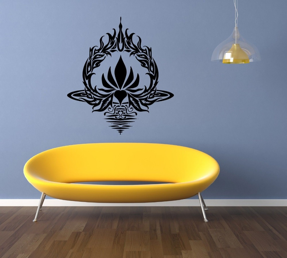Vinyasa Yoga Sanskrit Breath Synchronized Flow Yoga Wall Decal ...