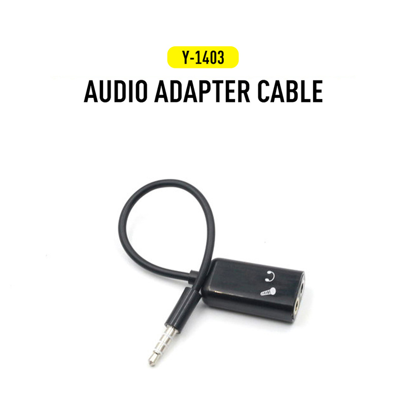 2In1 3.5mm Audio Splitter For Android IOS Earphone Adapter Double Jack Adapter Plug Stereo Headphone Splitter For IPhone Samsung