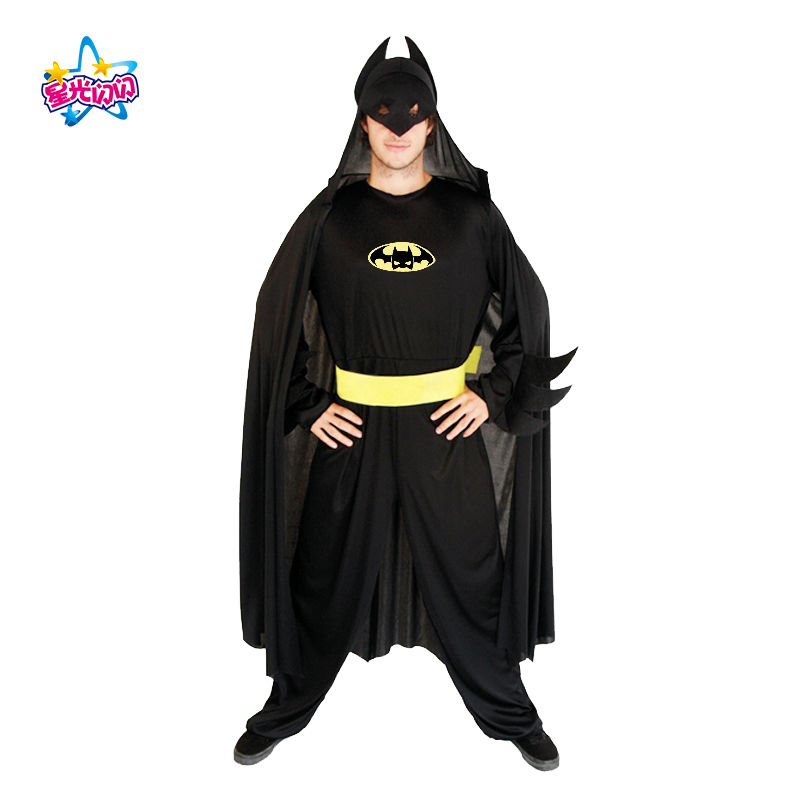 NoEnName Envío gratis Batman Superman hombres Batman Cosply - Disfraces - foto 4