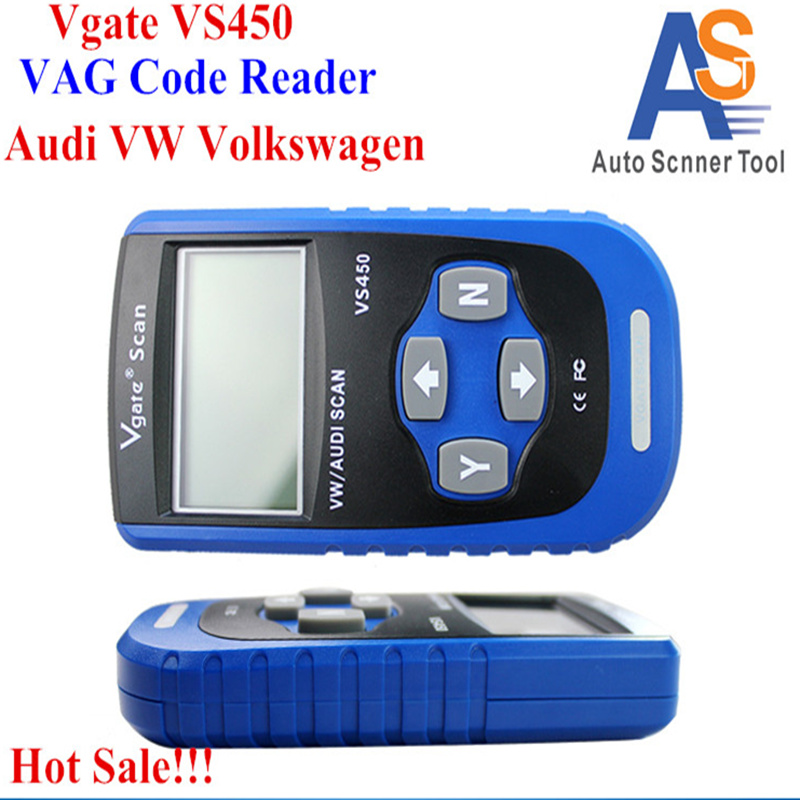 Цена за Простой в Использовании VS450 VAG VS450 Автомобилей Диагностический OBD2 Сканер с Дружественным Интерфейсом Кода Автомобиля Диагностический Сканер для Автомобиля