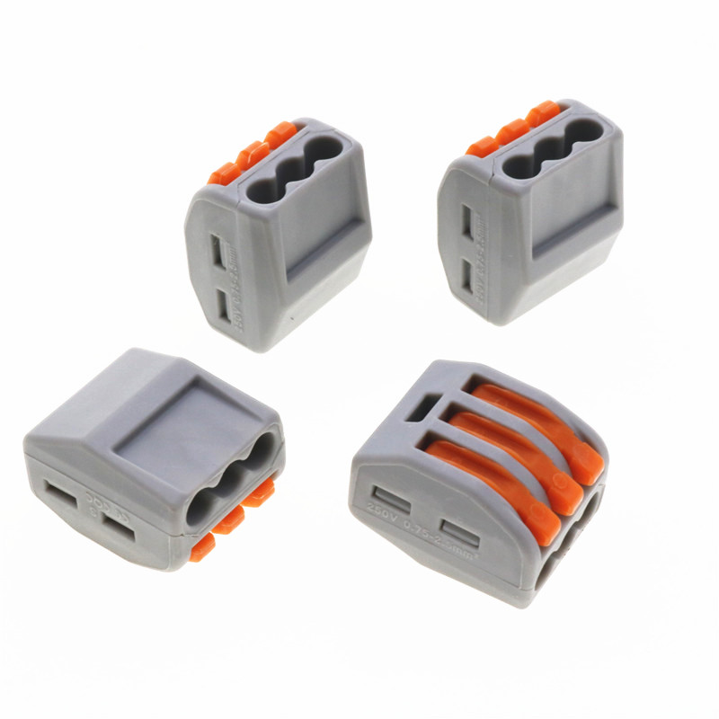 2018 Wago 222 413 Universal Compact Wire Wiring Connector Vse 413 3 ...