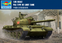Trumpet 05537 Chinese 62 Light Tank At 1:35 Collection Model Building Kits Toy