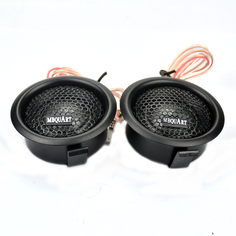 1set Car Hifi Tweeter Audio Portable Loudspeaker Supper Silks