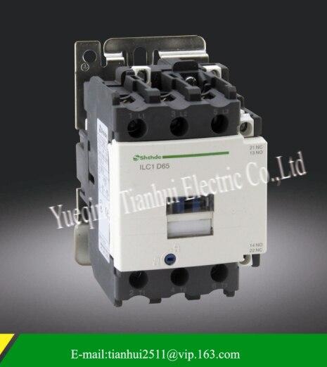 tianhui elecric shthde brand ILC1-D65 220v 50/60hz 3phase ac contactor