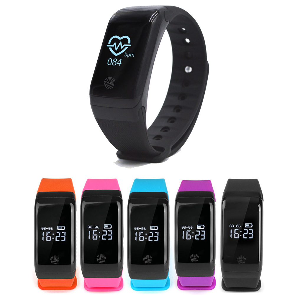 Bluetooth Smart Band Smartband Heart Rate Monitor Wristband Fitness Bracelet for Android iOS PK for Xiaomi Fitness Tracker lenovo hw02 smartband bluetooth heart rate monitor smart bracelet waterproof sport wristband fitness tracker for android ios