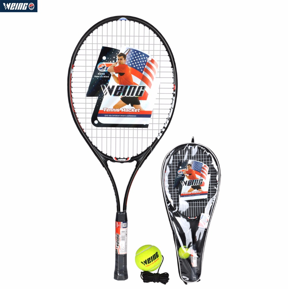 WEING WD-881 1PCS Tennis Racquet Racket Training Aluminum Alloy For Sports Professional Indoor&Outdoor  Racket With Bag