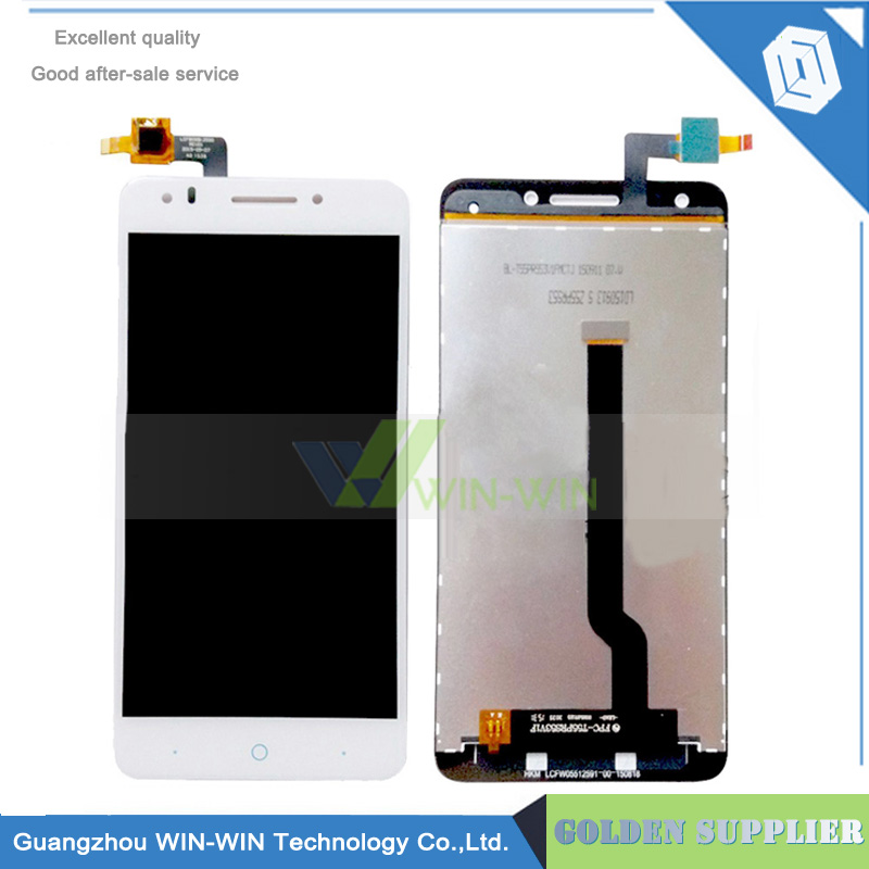Fast Delivery For ZTE Blade A570 LCD Display +Touch Screen Digitizer Assembly For ZTE A570 lcd Free Shipping автомобильный компрессор