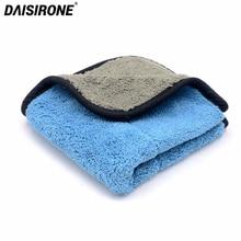 800GSM 30cmx30cm Super Thick Plush Microfiber Car Cleaning Cloths Car Care Microfibre Wax Wash Drying Polishing