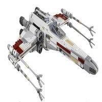 LEPIN 05039 Star Cool Model Wars 1586pcs Red Five X Starfighter Wing Building Blocks Bricks Toy