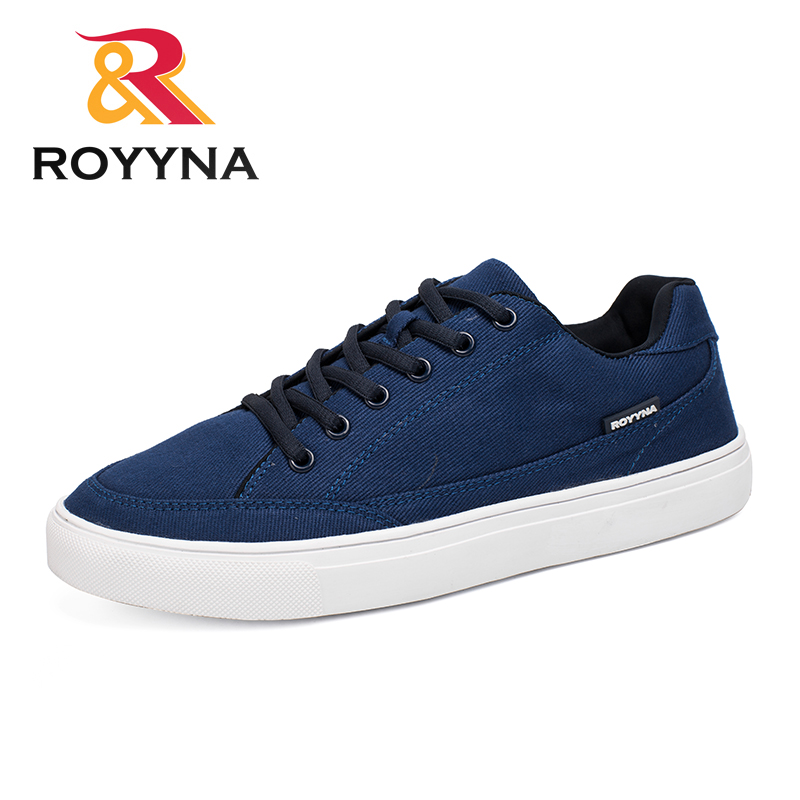 ROYYNA New Arrivals Popular Style Men Canvas Shoes Breathable Lace Up Men Casual Shoes Comfortable Male Shoes Free Fast Shipping