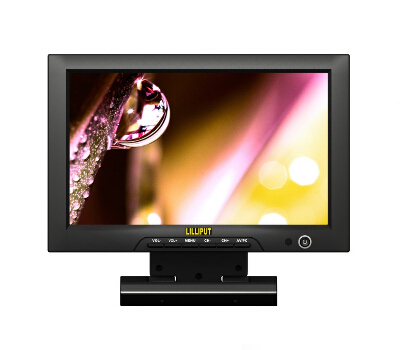 Lilliput FA1013,10.1 LCD HDMI Field Monitor With HDMI & YPbPr Input, To Connect With Full HD Video Camera