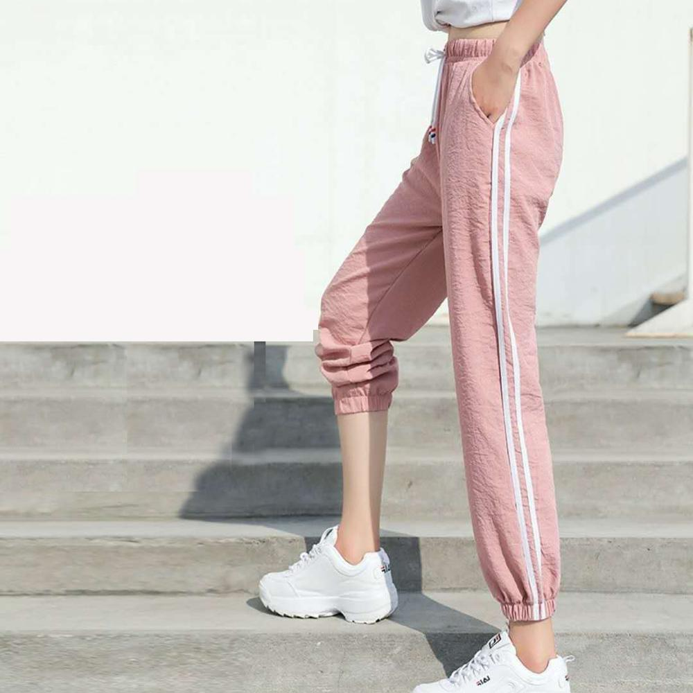 Pants   Women Sweatpants   Capris   Causal Trousers Fitness Loose Harem   Pants   Ankle-Length Quickly Drying Joggers   Pant   Female Size 3XL