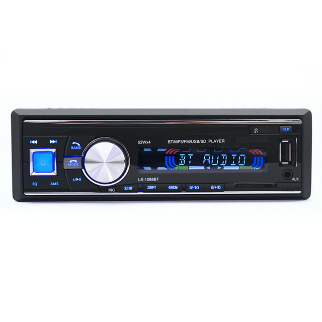 new MP3 Player FM Car Radio Stereo Audio Music USB SD Digital Microphone Bluetooth with In Dash Slot AUX Input