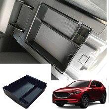 Автомобиль-Стайлинг Аксессуары интерьер авто подлокотник коробка для хранения автомобиля центральный интерьер перчатки лоток для Mazda CX-5 CX5 2017-2018 2019