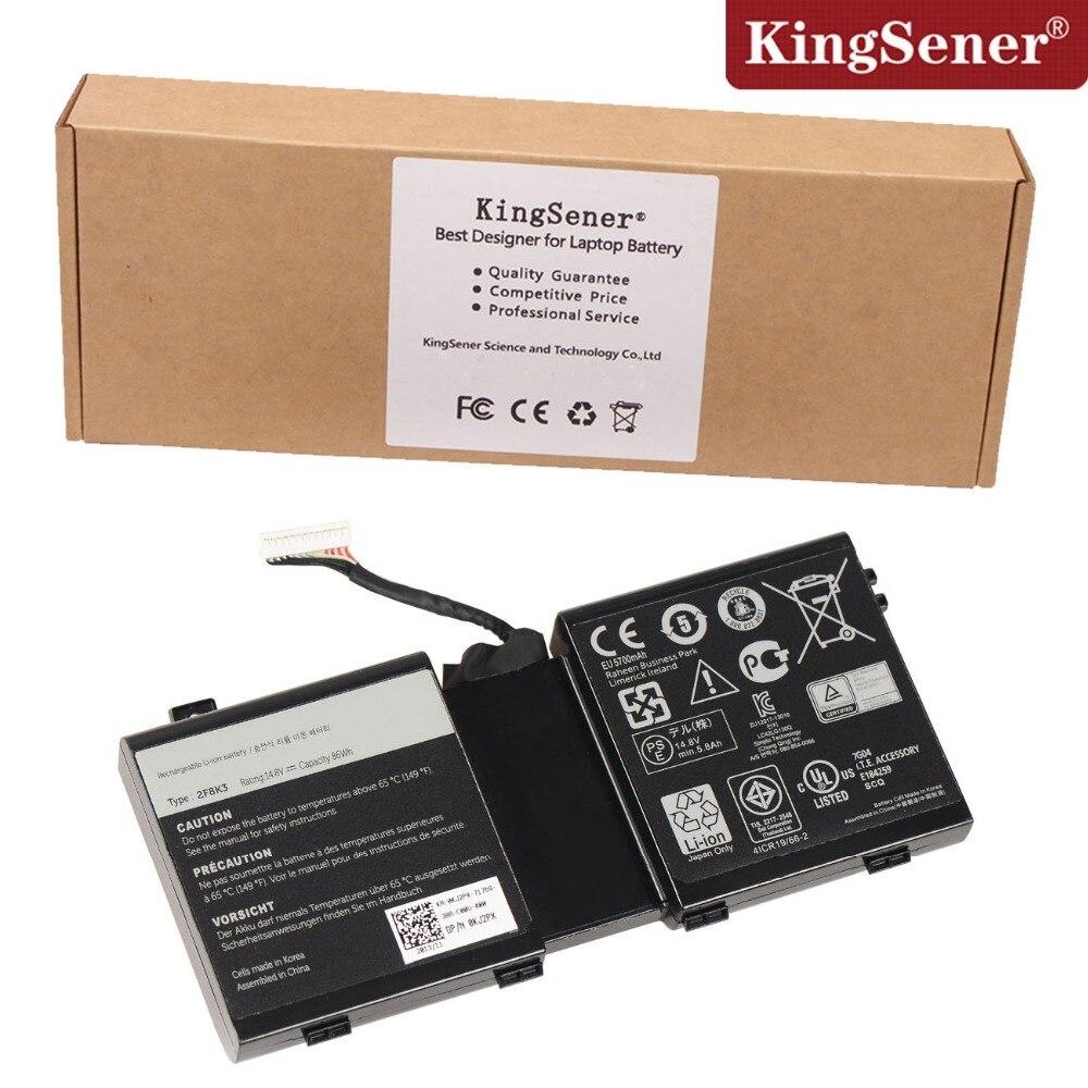 ФОТО Original Genuine New 2F8K3 Battery for DELL Alienware 17 18(ALW18D-1788) M18X M17X R5 2F8K3 0KJ2PX G33TT Free 2 Years Warranty