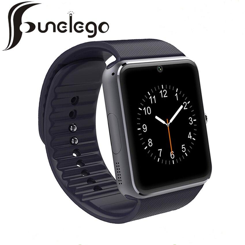 Funelego font b Smart b font font b Watch b font GT08 Bluetooth Camera SIM Card