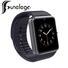 Funelego Smart Watch GT08 Bluetooth Camera SIM Card For IOS Android Wear SmartWatch Waterproof Clocks Wrist Watches Cell Phone