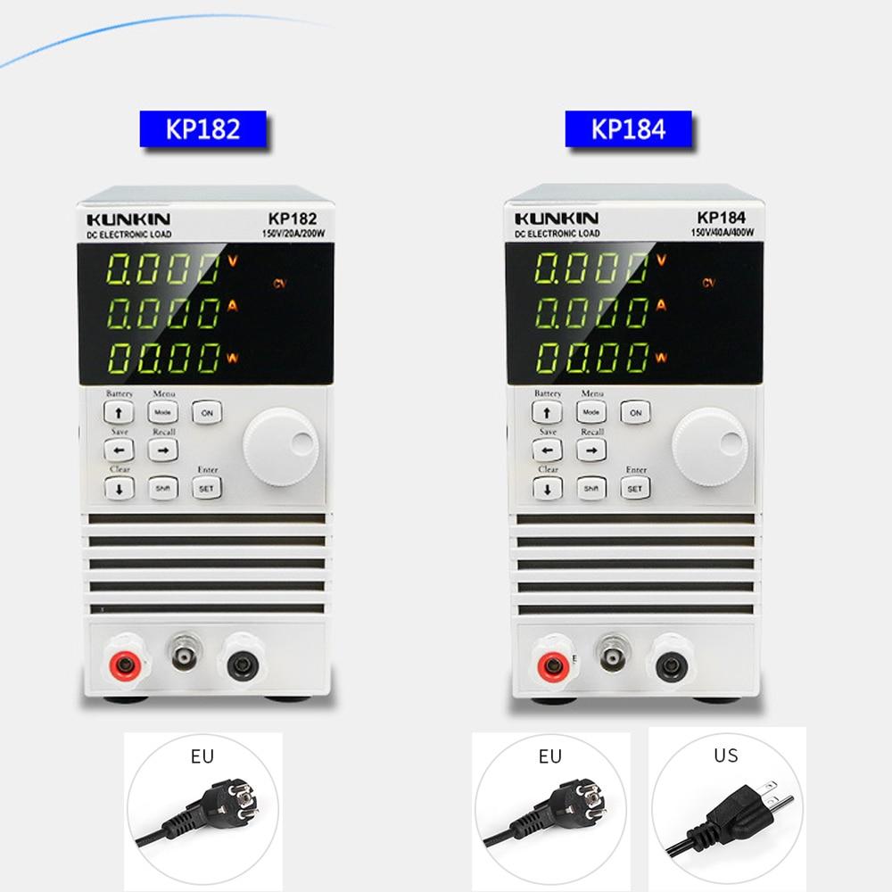 Rapide arrivée KP182/KP184 Unique Canal Électronique DC Charge 200 W/150 V/20A, 400 W/150 V/40A